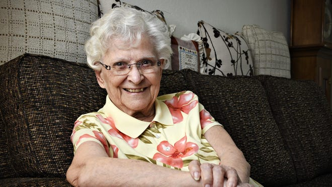 Rita Zumwalde, 92, talks May 29 about living most of her life in Richmond and is looking forward to the celebration of Richmond's 125th anniversary.