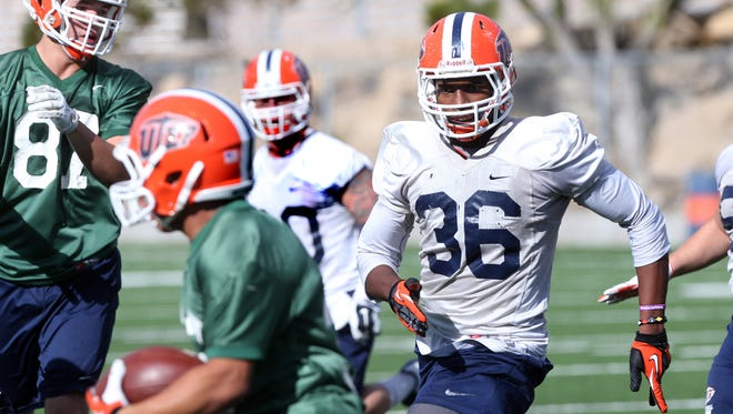 UTEP's Nick Usher, 36, is on the pre-season Conference USA list.