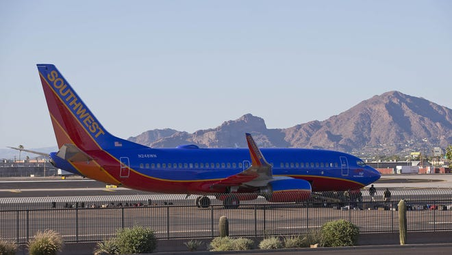 Southwest Airlines announced that with the start of daylight saving time Sunday, March 11, 2018, fliers have one less hour of check-in time Saturday, March 10, 2018.
