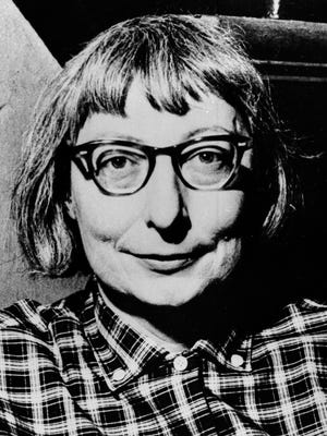 Jane Jacobs poses for a photo in this July 11, 1962 file photo.