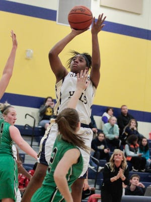 Walnut Hills' Kennedi Myles is third in the ECC in scoring at 15 points per game and second in rebounding at 9.8 per game.
