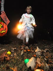 The Halloween Moonlight Egg Hunt will take place at Broad Ripple Park on Oct. 27.