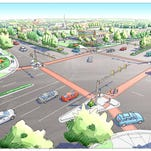 Work that started Monday to improve the intersection of Horsetooth and Timberline roads in east Fort Collins will last through mid-October.