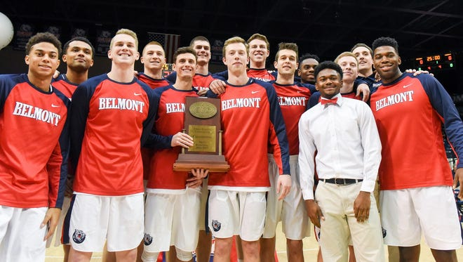 Belmont earned an automatic berth in the National Invitation Tournament by winning the OVC regular season title.