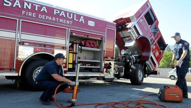 The Santa Paula City Council moves toward disbanding its fire department.