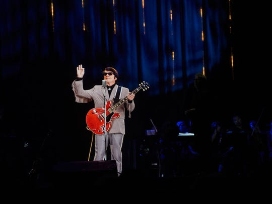 """""""In Dreams"""" - Roy Orbison in Concert during The Hologram"""