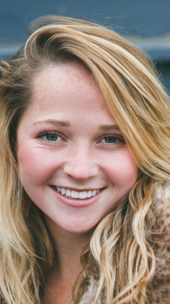 Asheville High senior Adrienne Haynes.
