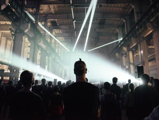 The Berlin Atonal festival takes place in a building