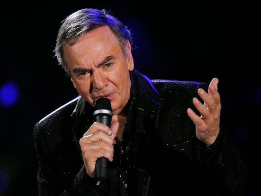AP SWITZERLAND CONCERT NEIL DIAMOND I ENT CHE