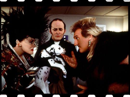 Reverting to her sinister ways Cruella De Vil (Glenn
