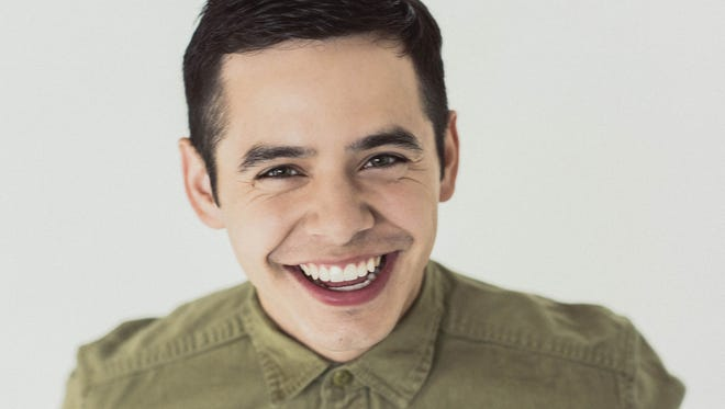 David Archuleta will perform back-to-back shows at Tuacahn Amphitheatre on Nov. 6 and 7 in Ivins City.