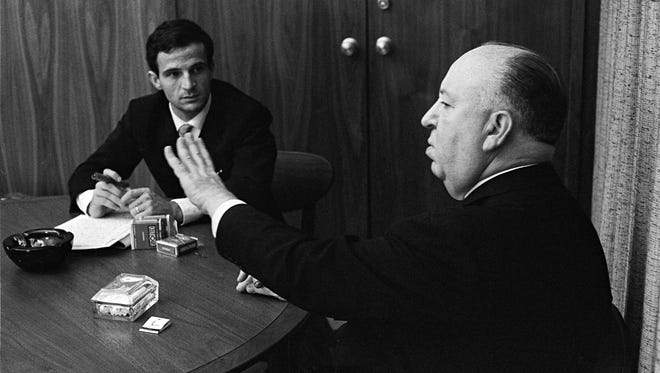 Directors Francois Truffaut and Alfred Hitchcock talk about filmmaking.