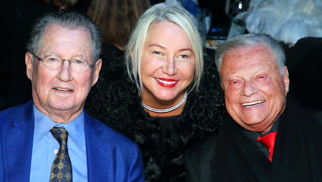 Jack and Patti Grundhofer with Harold Matzner.