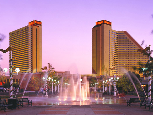 The Nugget Casino Resort in Sparks, Nevada is one of