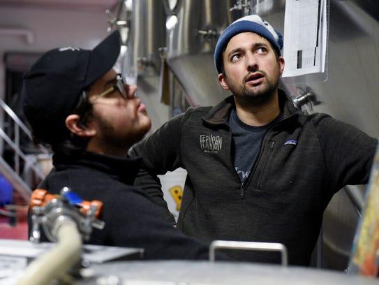 Blake Thompson, co-founder of Fernson Brewing Company,