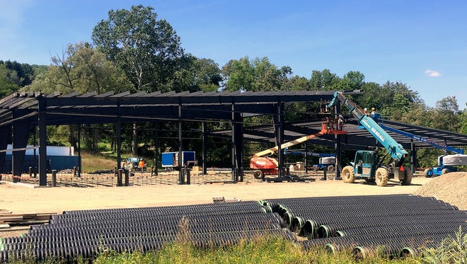 After years of delays, a new Wellsburg fire station is finally being built.
