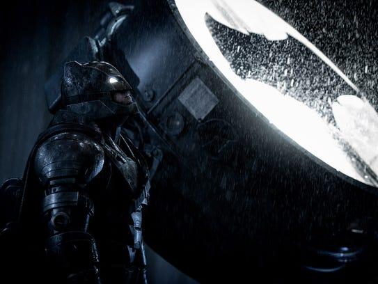 Ben Affleck says his older Dark Knight in 'Batman v