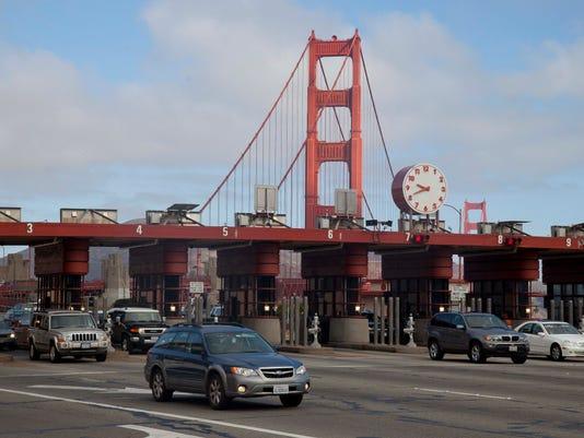 AP GOLDEN GATE BRIDGE TOLLS A FILE USA CA