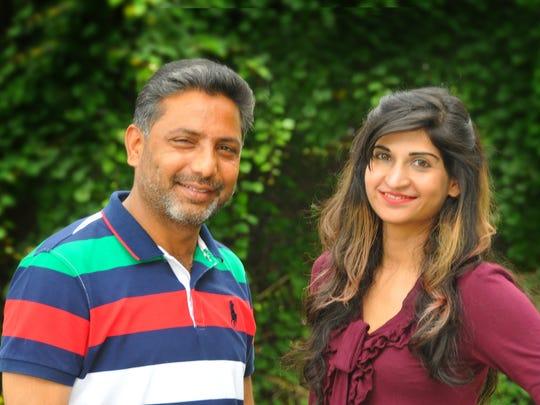 Fazal Khaliq and Fatima Shaheen are visiting FLORIDA