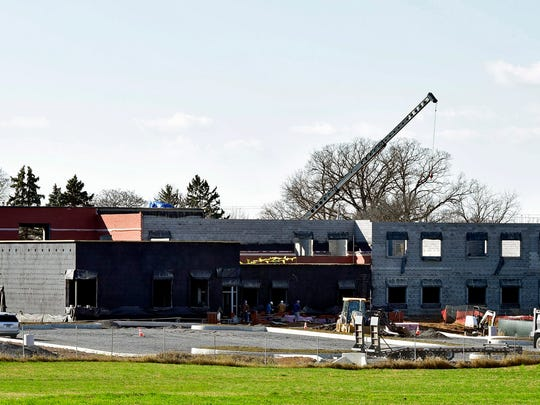 The new Marion Elementary School is currently under construction and  is expected to be ready for occupancy in time for the 2016-17 school year.