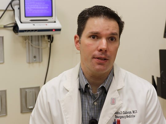 Dr. Dustin Calhoun, assistant professor at the University of Cincinnati College of Medicine's emergency medicine department, talks about the myth of packing an overdose person with ice.
