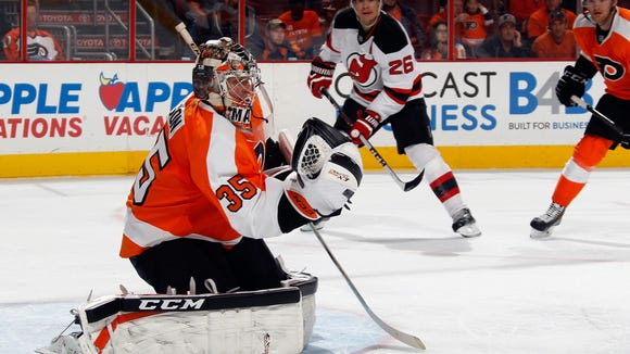 The Devils are the only team that Steve Mason hasn't beaten in his NHL career.