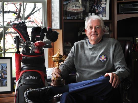 FILE -- Ted Bishop, shown in 2012, as he was preparing