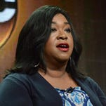 "Shonda Rhimes is the executive producer of ""Grey's Anatomy,"" ""Scandal"" and this season's new series ""How to Get Away With Murder."""