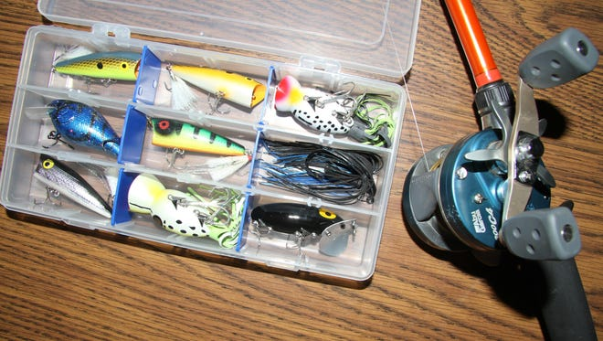 It takes the right gear to successfully fish in the waters of Eddy County.