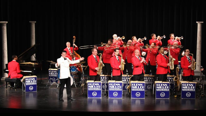The world famous Glenn Miller Orchestra performs at 7 p.m. Tuesday at the National Naval Aviation Museum.