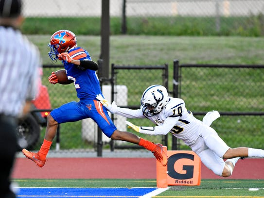 York High's Rob Rideout has earned Class 5-A all-state recognition as a defensive back. YORK DISPATCH FILE PHOTO