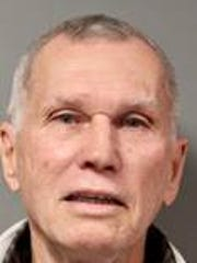 Richard Petty, 70, of Malvern, Pa., turned himself in to authorities on Feb. 8, 2018, and was charged with felony trademark counterfeiting over 1,000 items and failure to obtain a business license, an unclassified misdemeanor.