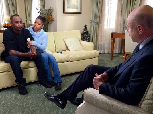 Nick Gordon and Dr. Phil