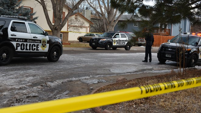 Police are investigating after a reported burglary and stabbing turned into an outdoor standoff with an armed man, who Fort Collins police ultimately shot Saturday morning in a residential neighborhood.