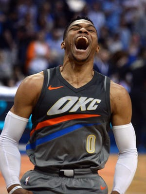 Thunder guard Russell Westbrook
