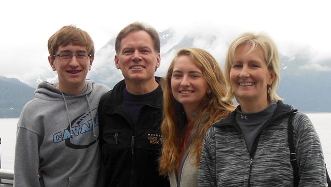 Chris and Stacey McManus and their children, Meghan and Connor, along with            Melet and Kim Antonakos and their children, Olivia, Mills and Ana, were vacationing together in July 2013 when their plane crashed on takeoff at the small airport 75 miles from Anchorage, Alaska. The pilot of the single-engine plane also died.