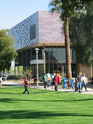 Glendale Community College, 6000 W Olive Ave., opened in 1965. The school enrolled 33,068 part- and full-time students in the 2014-15 year.