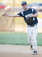 Glen Rock's Alexander Coombs threw five shutout innings on Sunday in Glen Rock's 2-1 victory over Mount Wolf. YORK DISPATCH FILE PHOTO