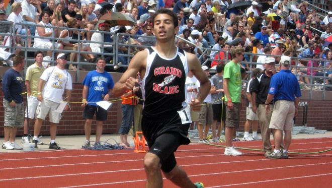 Omar Kaddurah of Grand Blanc was the state Division 1 champion in the 1,600-meter run in 2010 and 2011.