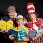 """Colby Coren, Ethan Suess, and Trissa King star in """"Seussical,"""" which opens Feb. 12 at Asheville Community Theatre."""