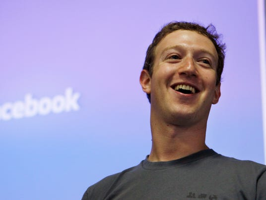 Facebook's record close added $1.6 billion to CEO Mark Zuckerberg's net worth.