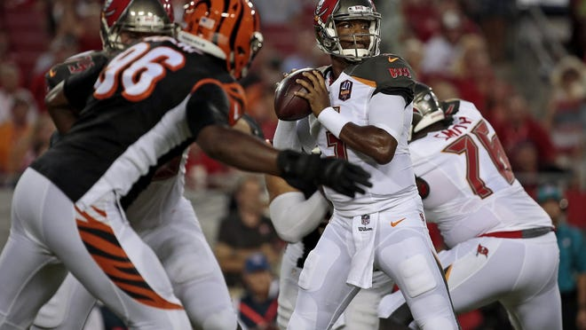 The Bengals let Buccaneers rookie quarterback Jameis Winston engineer an eight-play, 80-yard touchdown drive to start the game.