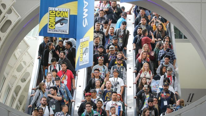 Absent from downtown San Diego and the convention center this July will be the tens of thousands of Comic-Con fans who turn out each year for the always sold-out pop culture gathering. But the convention will be held online, for free, starting July 22.