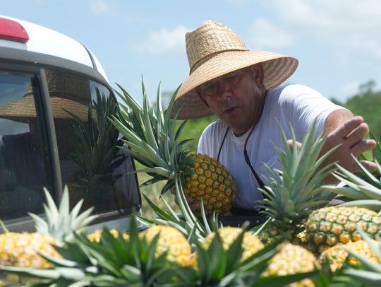"""I was raised in citrus,"" said Mark Dellerman, production"