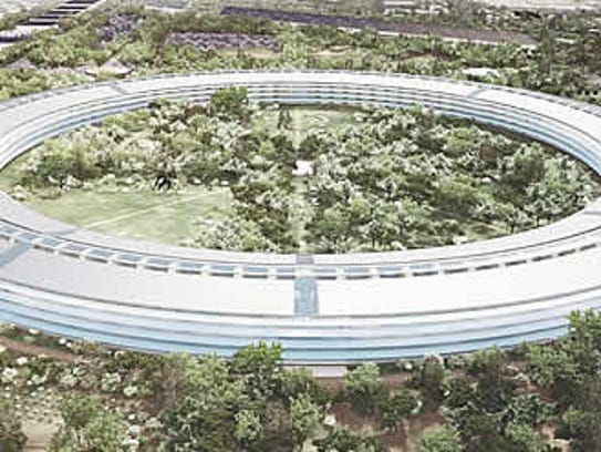 Apple's next campus will accommodate its staff in a