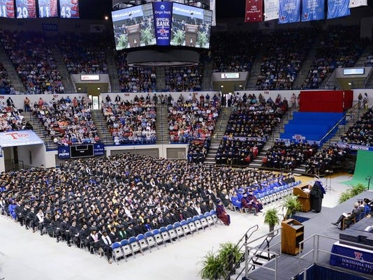 Louisiana Tech Spring Commencement