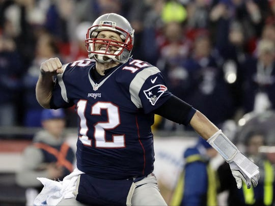 Patriots quarterback Tom Brady will be playing in his seventh Super Bowl.