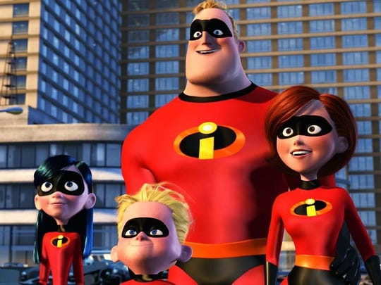 The Incredibles make for a perfect family cosplay.