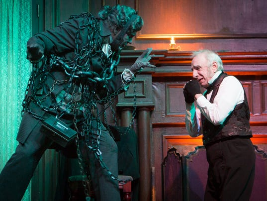 Thomas D Mahard : From scrooge to elf holiday shows on metro detroit stages