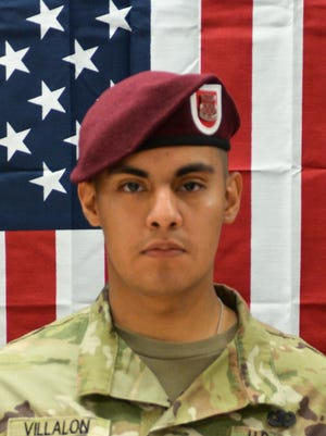 Pfc. Miguel Angel Villalon, 21, of Joliet, Illinois, was killed Jan. 11, 2020, by an improvised explosive device in Kandahar, Afghanistan.